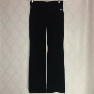 Pink Yoga Pants black size small